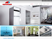 Responsive Homepage fuer Heininger GmbH in Krombach